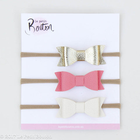 HS17 3 Bow Set Pretty Princess