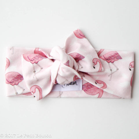 "HS17 EXCLUSIVE ""Erol"" Flamingo Bow Knot Headband"