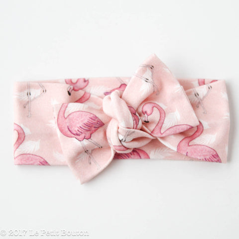 "HS17 EXCLUSIVE ""Erol"" Bow Knot Flamingo Headband"