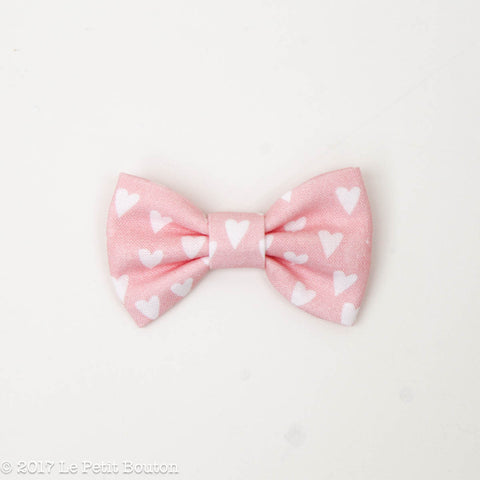 HS17 Valentines Small Bow Clip