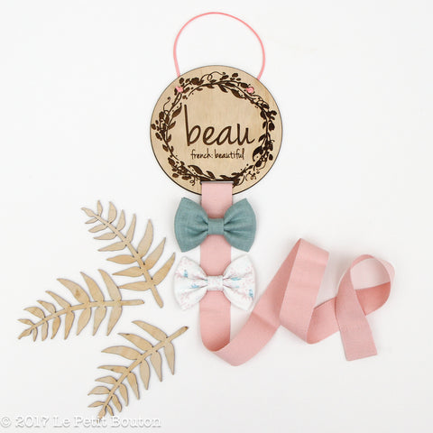 Hairclip Bow Holder - Beau