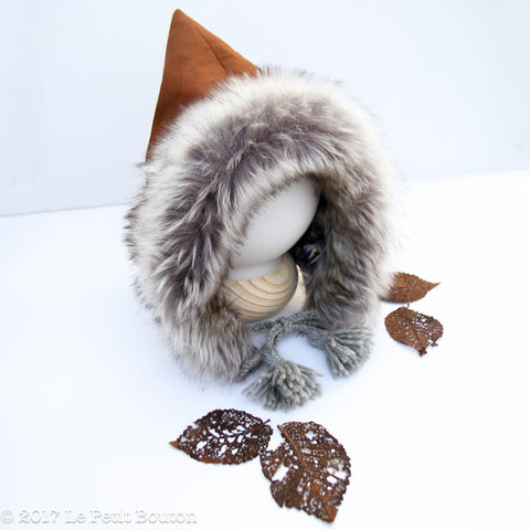 Winter 17 Pixie Hood- Cinnamon