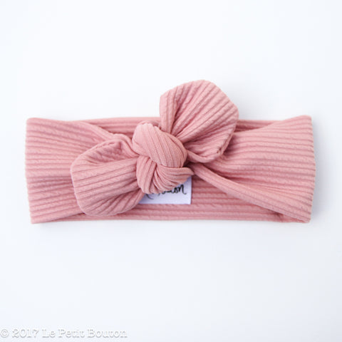 Top Knot Headband - Textured Musk