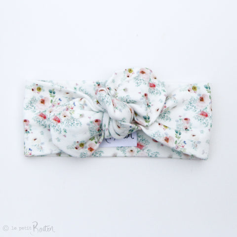 Spring17 Organic Top Knot Headband - Cottage Floral