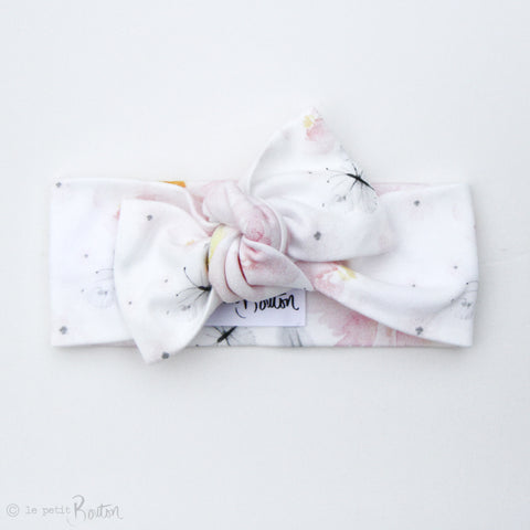 Spring17 Organic Bow Knot Headband - Spring Butterfly