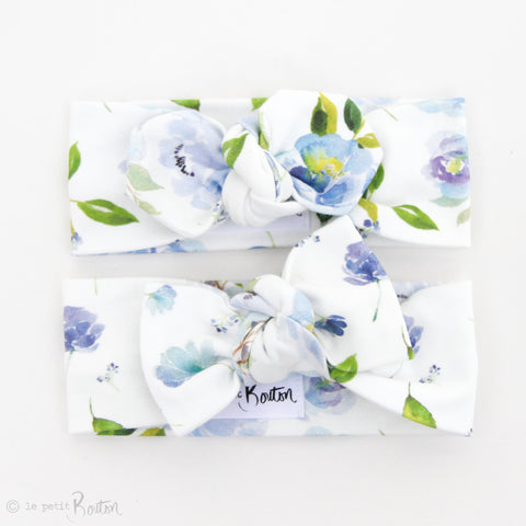 Spring/Summer17 Organic Cotton Bow Knot Headband - Fresh Floral