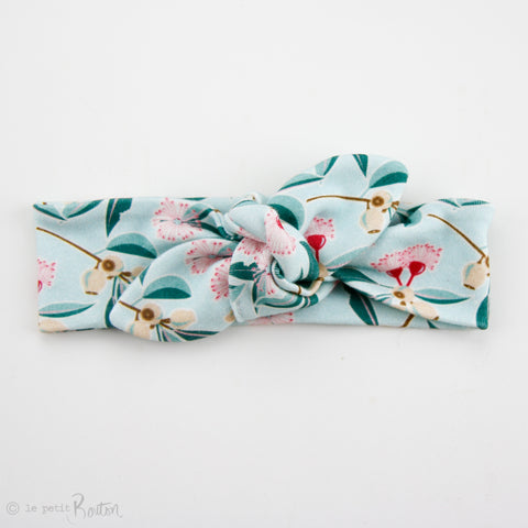 Australiana Organic Cotton Slim Top Knot Headband - Australian Botanics