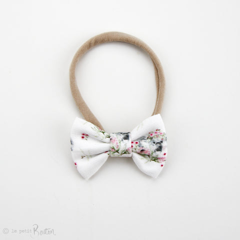 Australiana EXCLUSIVE Small Linen Bow Headband - Flower Crown Koalas