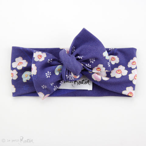 Cotton Jersey Bow Knot Headband