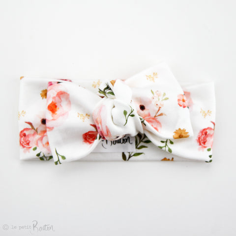 Organic Cotton Bow Knot Headband