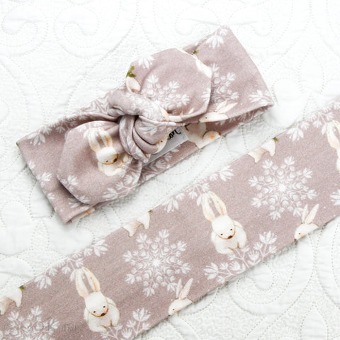 Easter18 Organic Cotton Top Knot Headband