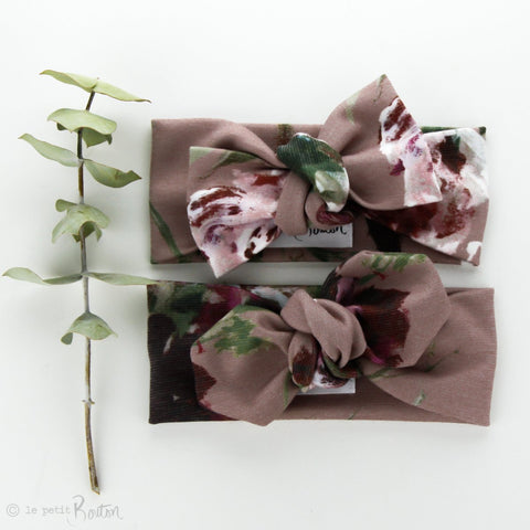 Ponte Bow Knot Headband - Dusty Rose - $6.36 with the code MFB at checkout