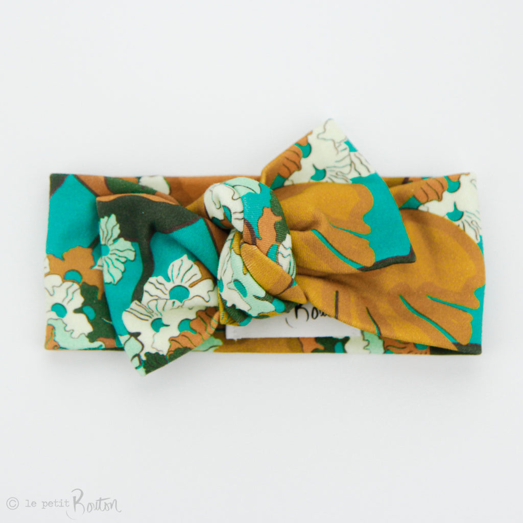 AW2 Organic Cotton Bow Knot Headband