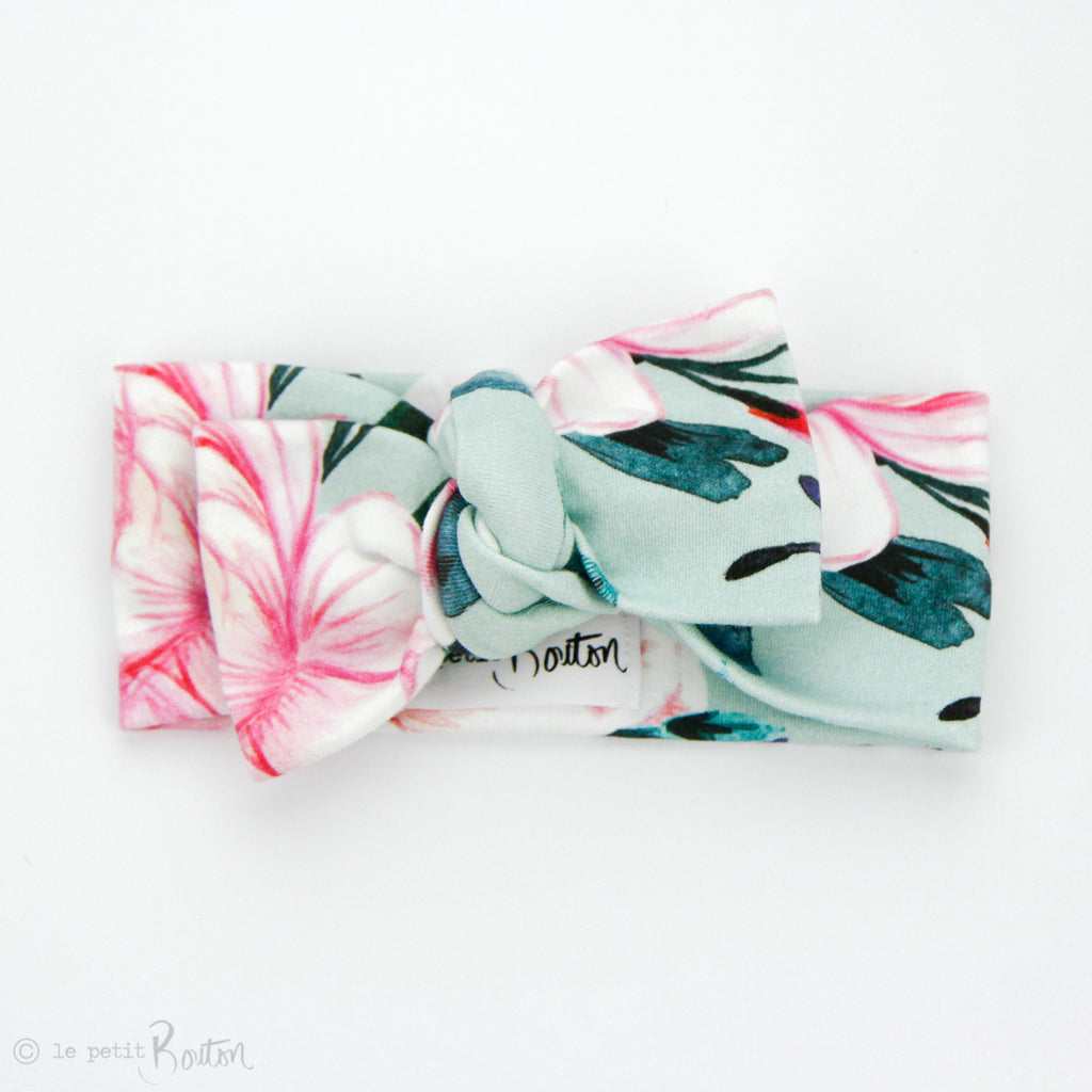 Organic Cotton Bow Knot Headband - Spring Fling