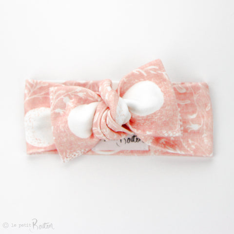 Organic Cotton Bow Knot Headband - Luna