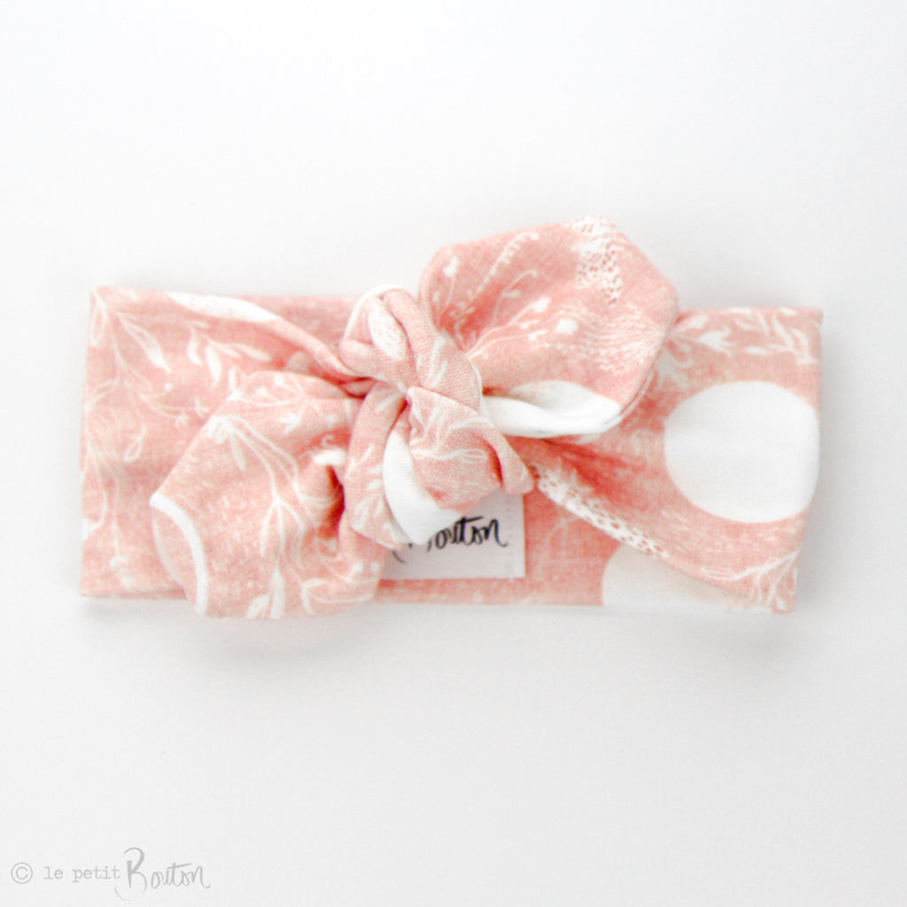 S.ONE Organic Cotton Top Knot Headband - Luna