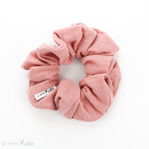 Scrunchie - Double Gauze - Dusty Pink