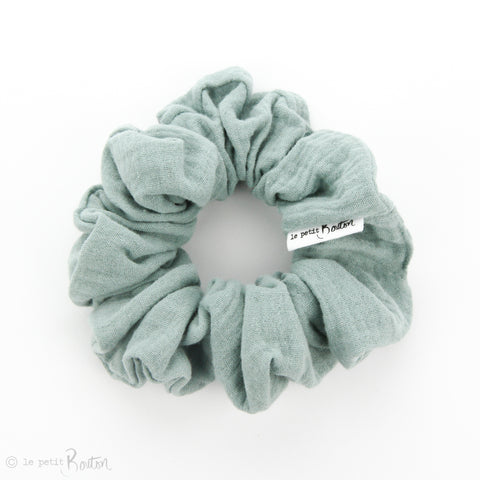 Scrunchie - Double gauze - Seafoam