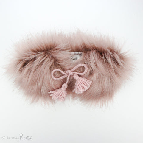 aw19/2 Luxe Faux Fur Collar - You Know You Want To Touch it... Pink!