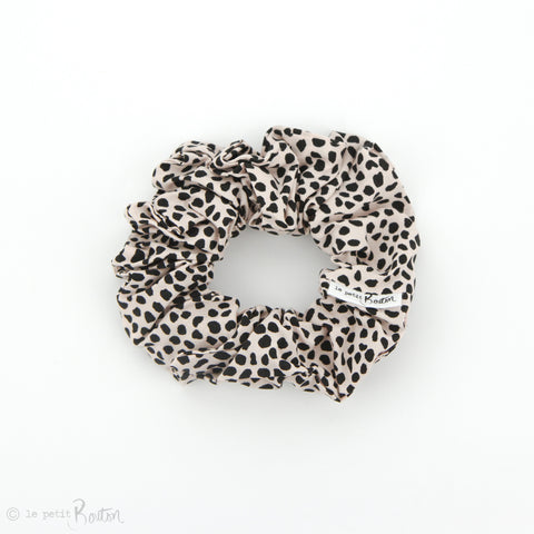 aw19/2 Statement Scrunchie - Anamalia Soft Blush Speckle
