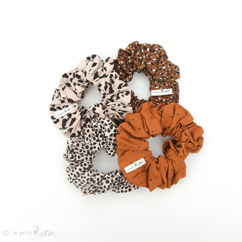 aw19/2 Gift Box Set of 4 scrunchies - Animalia