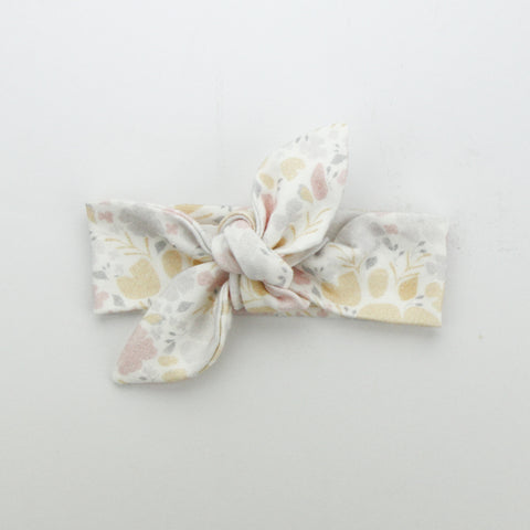 Autumn20 Newborn Organic Cotton Top Knot Headband - Pretty Pastel