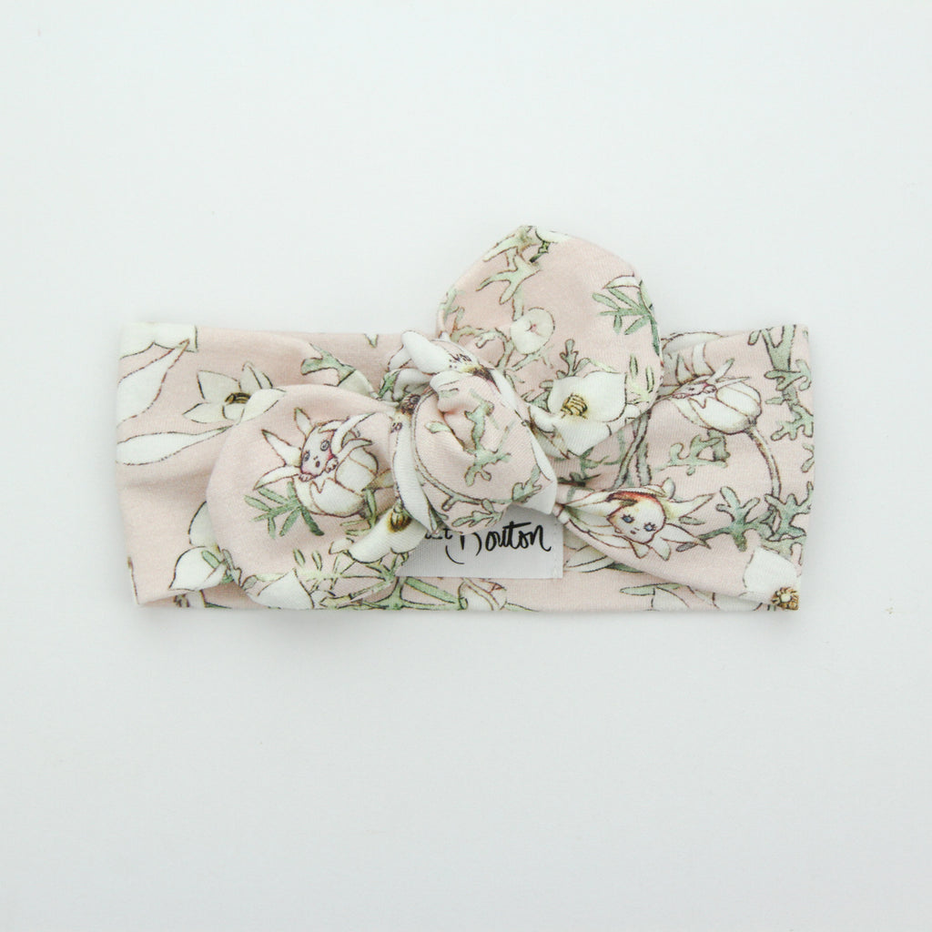 Cotton Jersey Top Knot Headband - May Gibbs - 1 LEFT