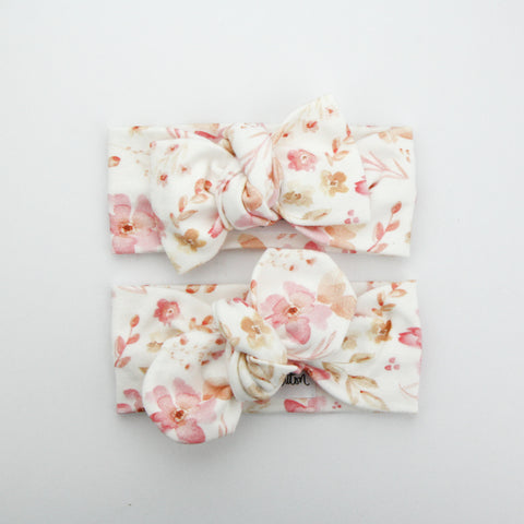 Autumn20 Organic Cotton Bow Knot Headband - Meet me in the Wildflowers