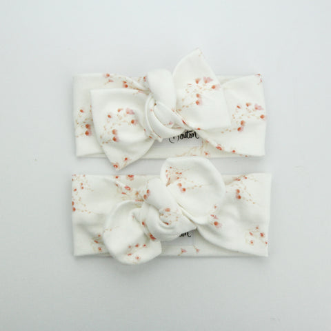 Autumn20 Organic Cotton Top Knot Headband - Sunday Posies