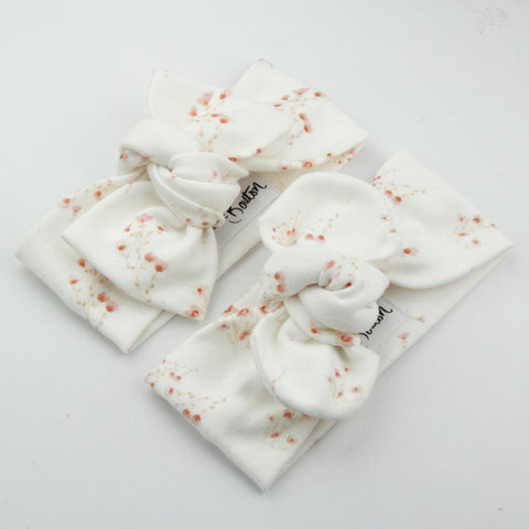 Autumn20 Organic Cotton Bow Knot Headband - Sunday Posies