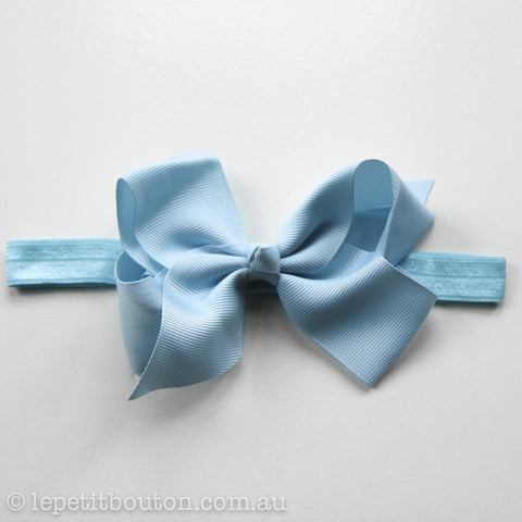 "Medium Bow Headband ""Sonja"""