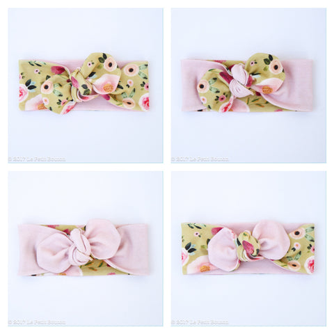 A17 Reversible Organic Top Knot Headband