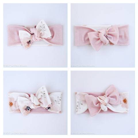 A17 Organic Reversible Bow Knot Headband