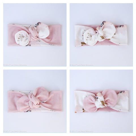 A17 Organic Reversible Top Knot Headband