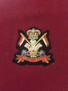 16th Queens Lancers Cap Badge