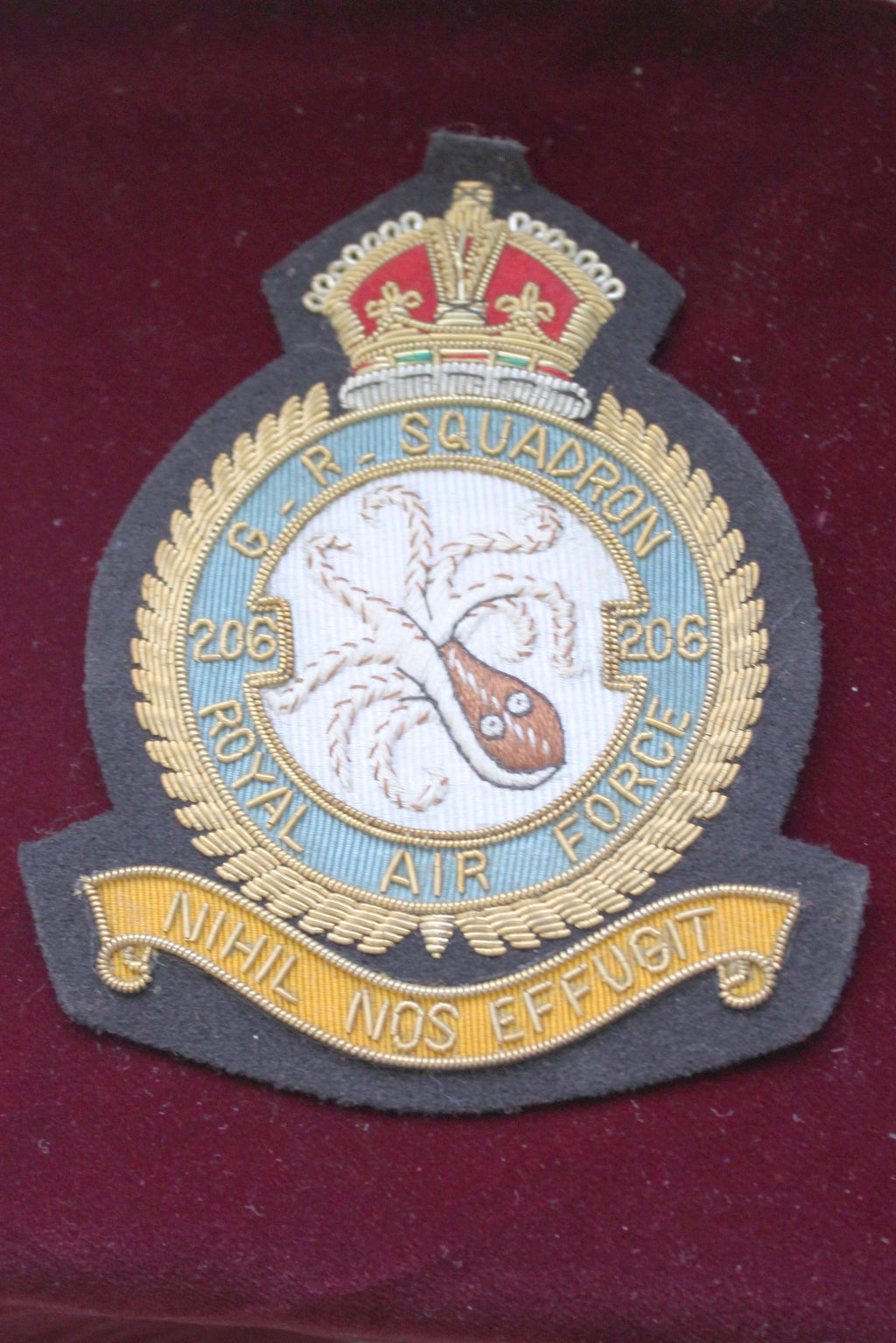 RAF 206th Squadron Blazer Badge