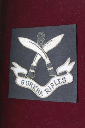 4th POW own Gurkha Rifles Blazer Badge