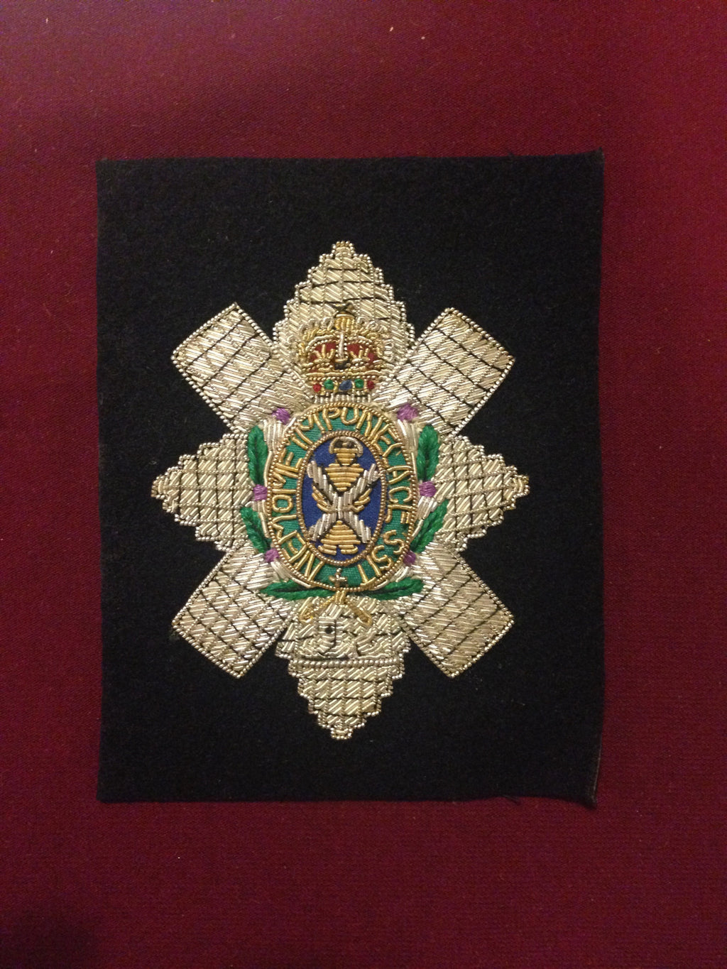 Black Watch Blazer badge
