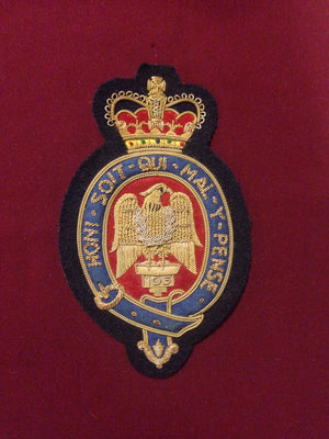Blues and Royals Blazer Badge