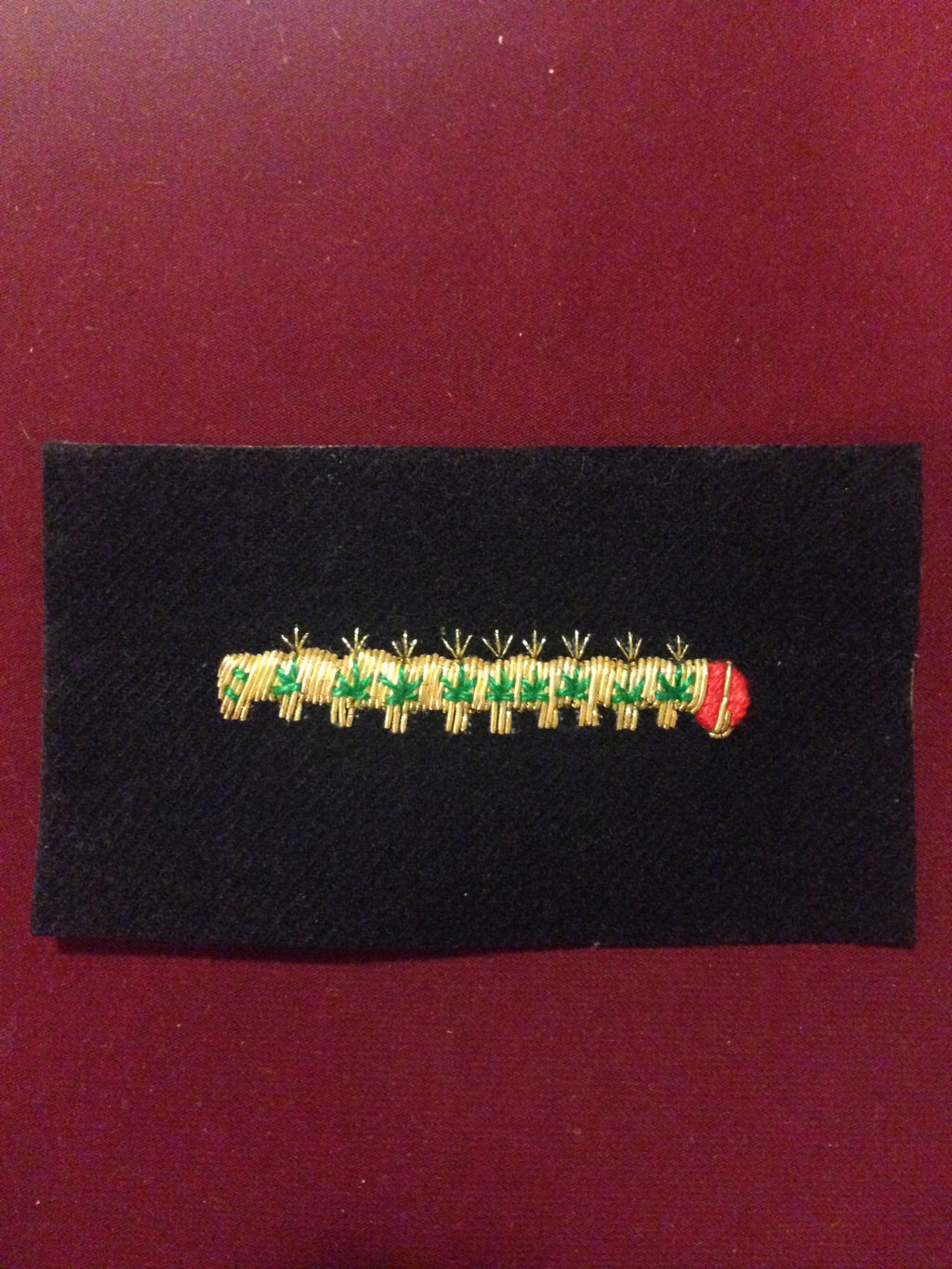 Caterpillar Club Blazer badge