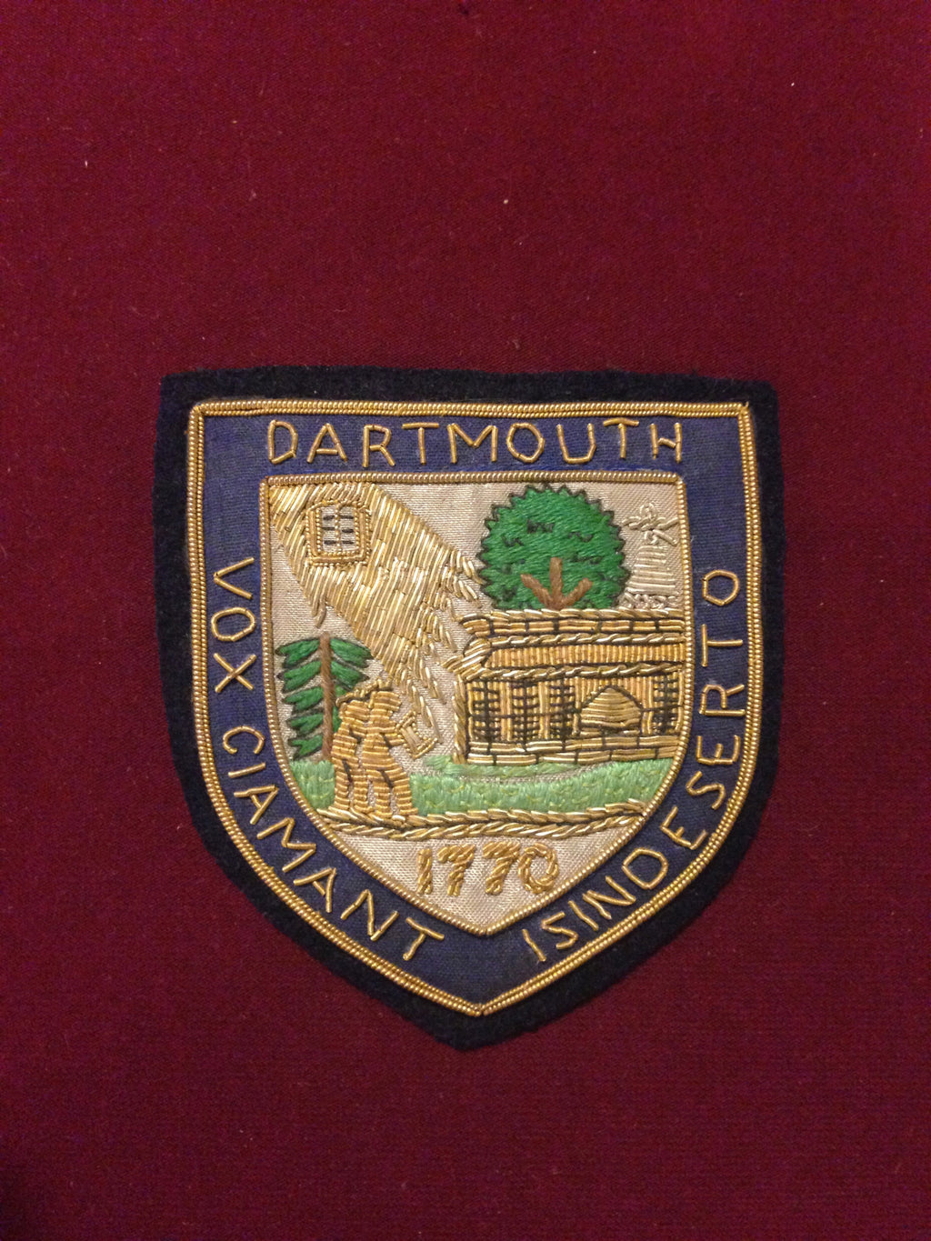 Dartmouth College Blazer Badge