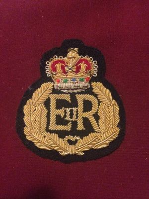 Queen's Bays Second Dragoons Blazer Badge