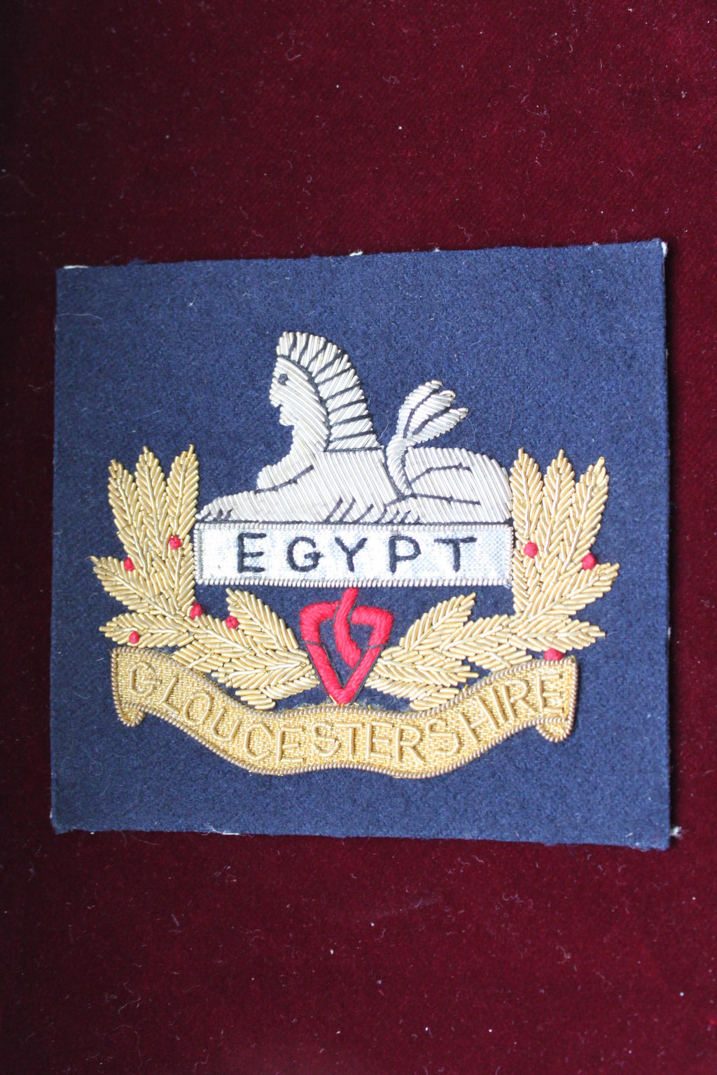 Gloucestershire Regiment Blazer Badge