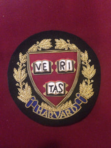 Harvard University Blazer Badge