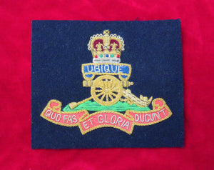 The Royal Artillery Blazer Badge
