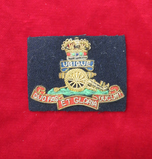 The Royal Artillery Cap Badge