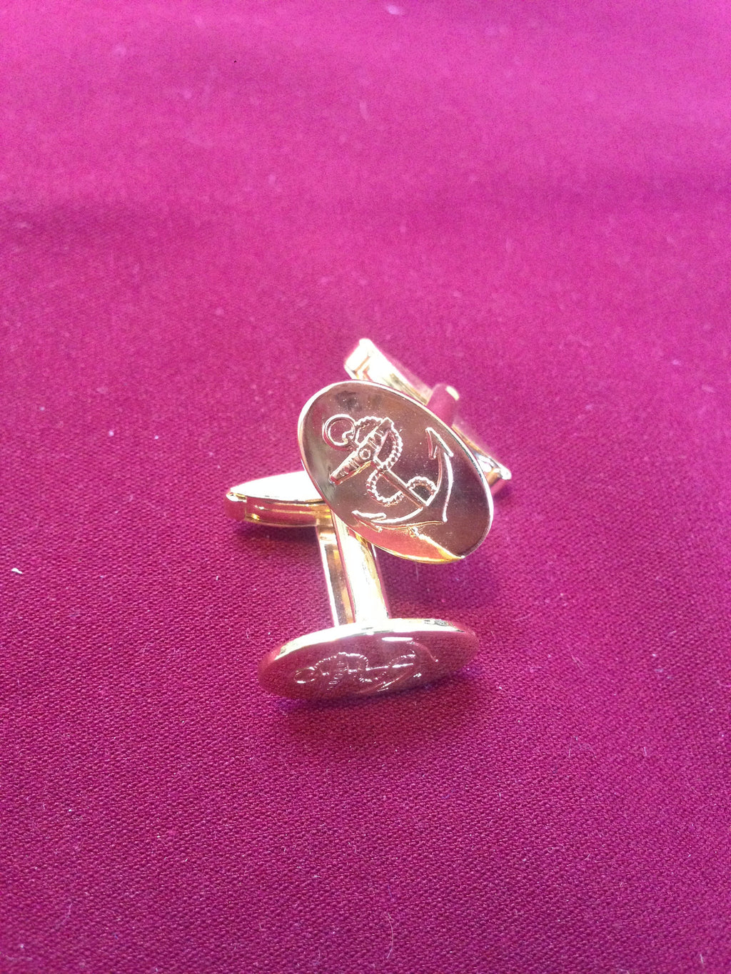 Naval Anchor Cufflinks