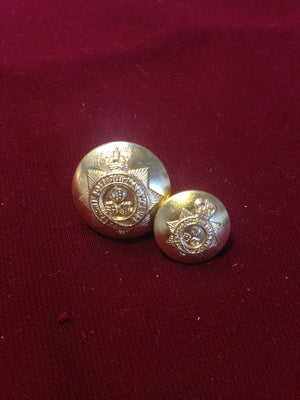 1st King's Dragoon Guards Buttons