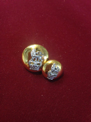 Crown & Lion Buttons