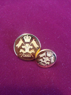 9th 12th Lancers Buttons